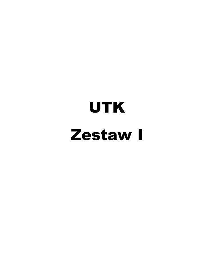 UTK Zestaw I