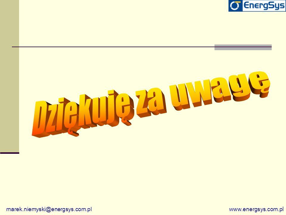 marek.niemyski@energsys.com.pl w ww.energsys.com.p l