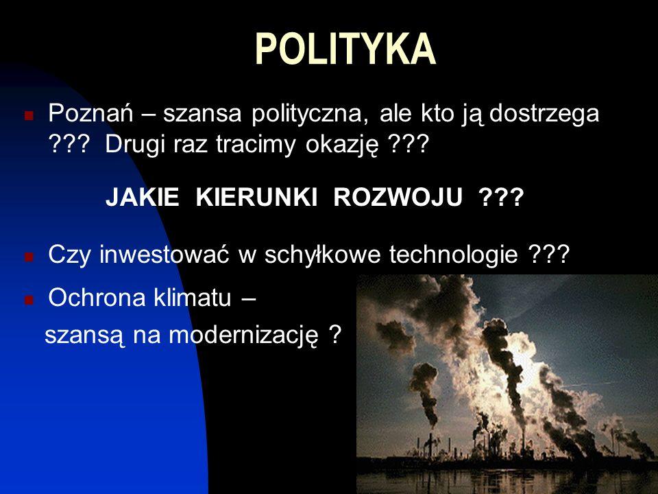 POLITYKA Poznań – szansa polityczna, ale kto ją dostrzega .