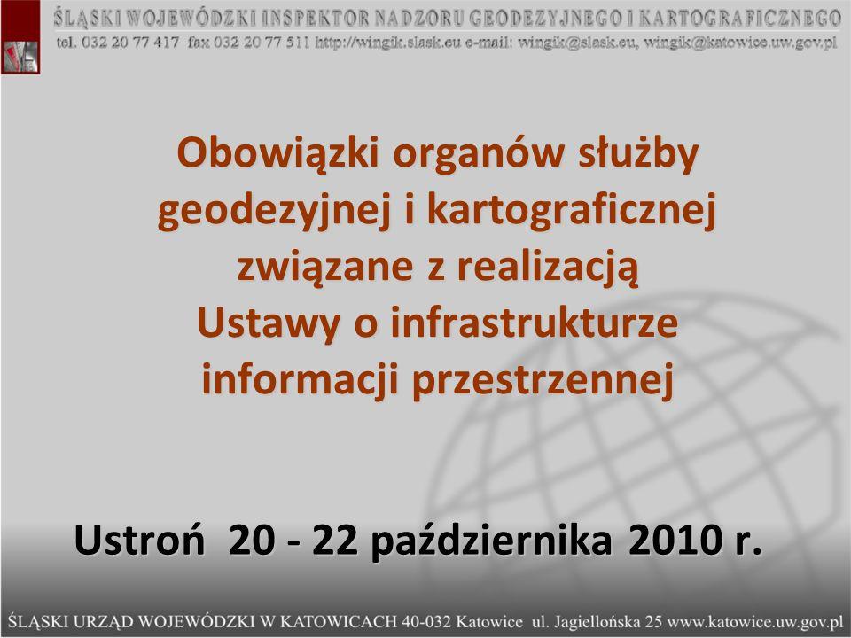 Ustawa Prawo geodezyjne i kartograficzne – udostępnianie danych i informacji Ustawa Prawo geodezyjne i kartograficzne – udostępnianie danych i informacji Art.