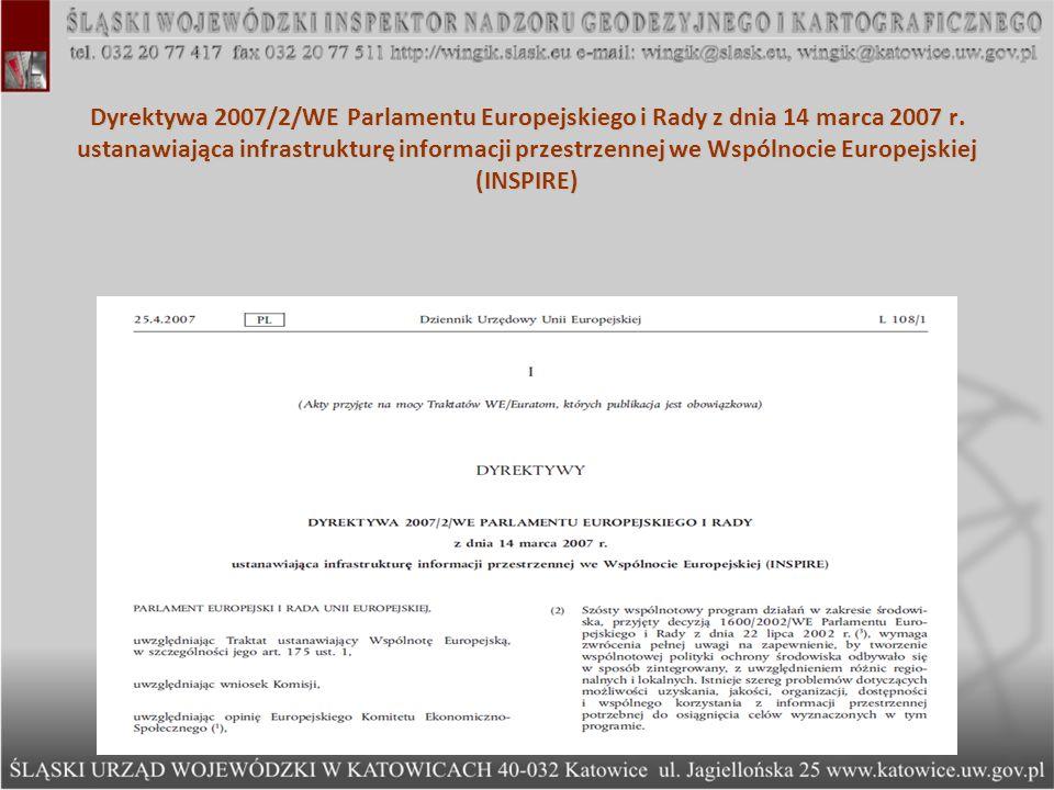 Wykaz przepisów przywołanych w art.40 ust. 3c Ustawy z dnia 17 maja 1989 r.