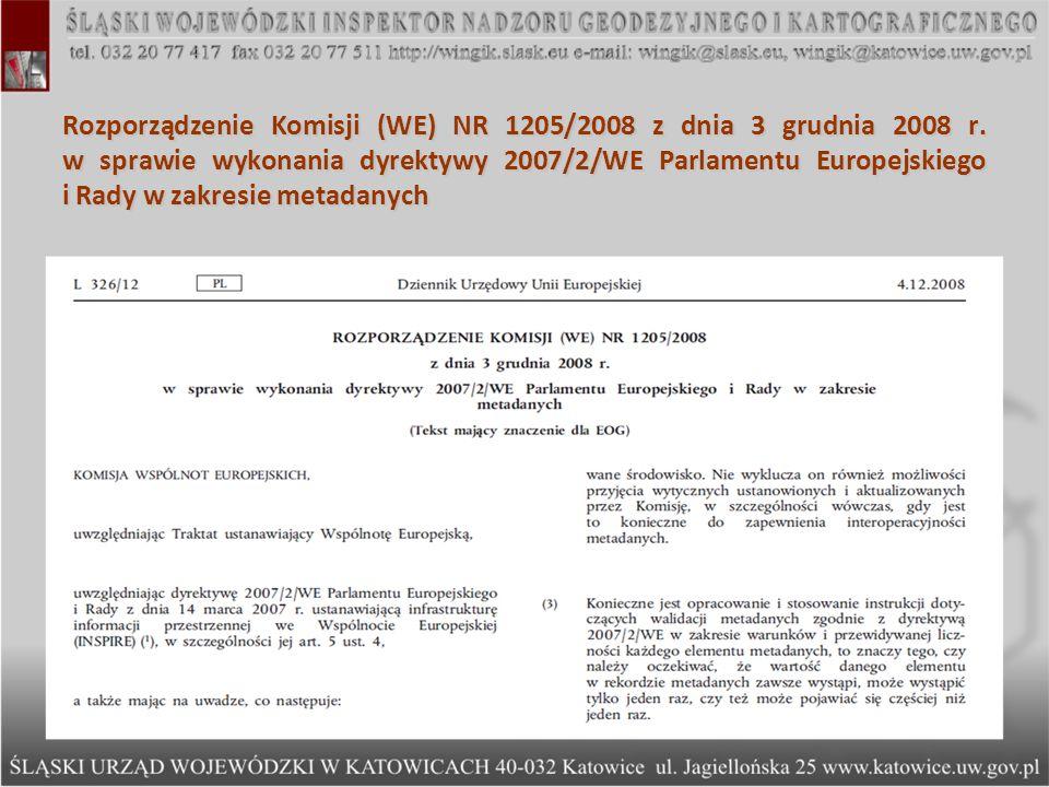 Rozporządzenie Komisji (WE) NR 976/2009 z dnia 19 października 2009 r.