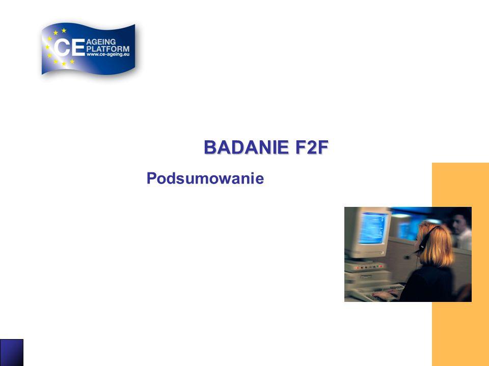 25 BADANIE F2F Podsumowanie