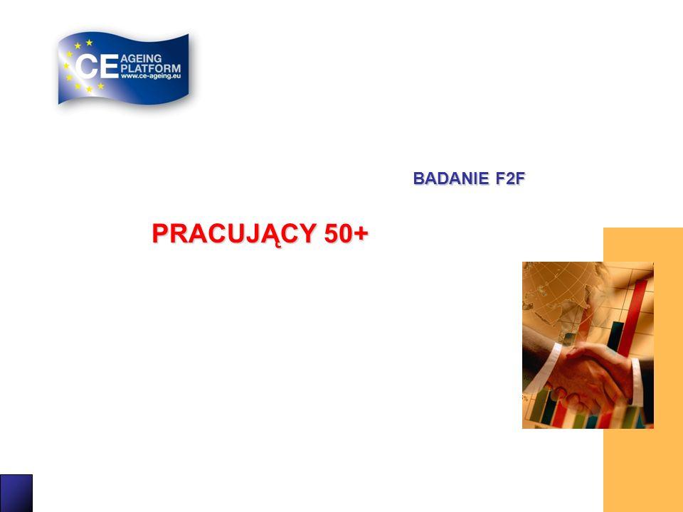 5 PRACUJĄCY 50+ BADANIE F2F
