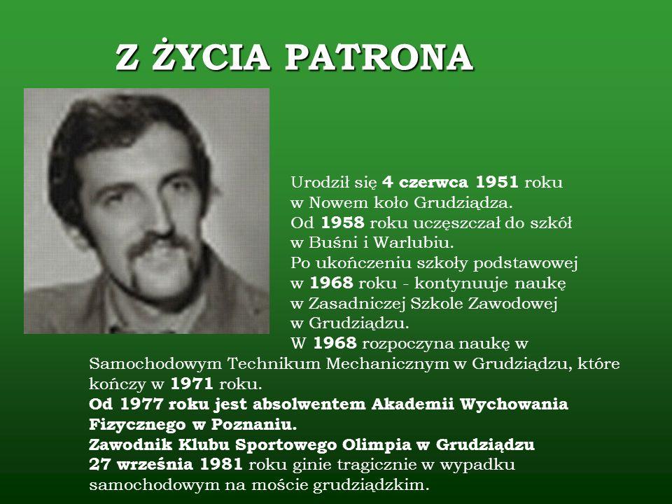 Urodził się 4 czerwca 1951 roku w Nowem koło Grudziądza. Od 1958 roku uczęszczał do szkół w Buśni i Warlubiu. Po ukończeniu szkoły podstawowej w 1968