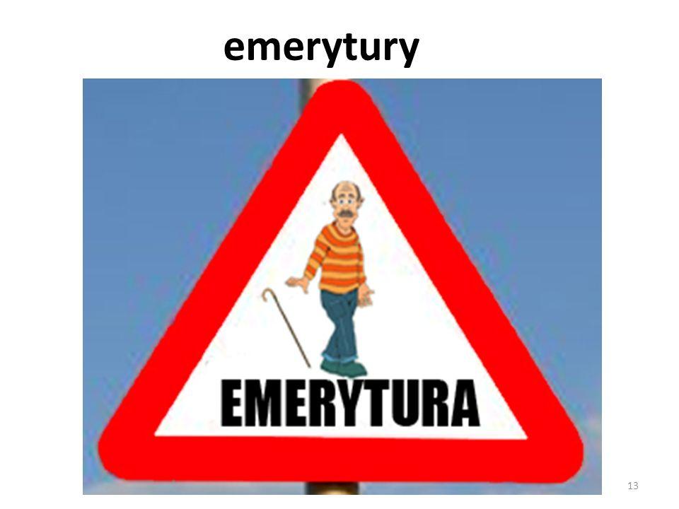 emerytury 13