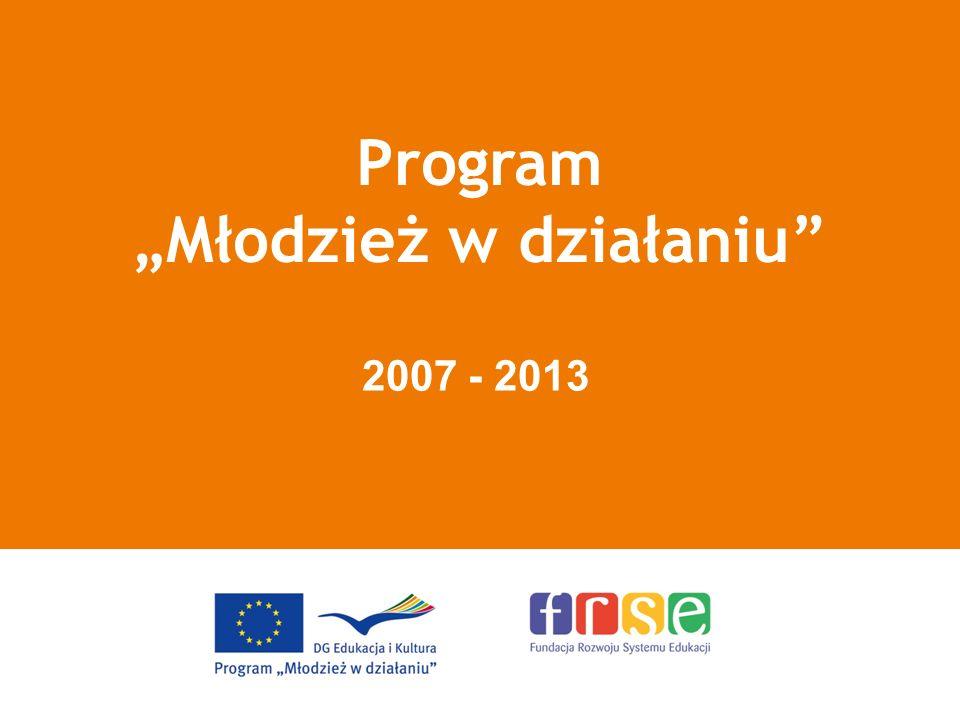 Program Młodzież w działaniu 2007 - 2013