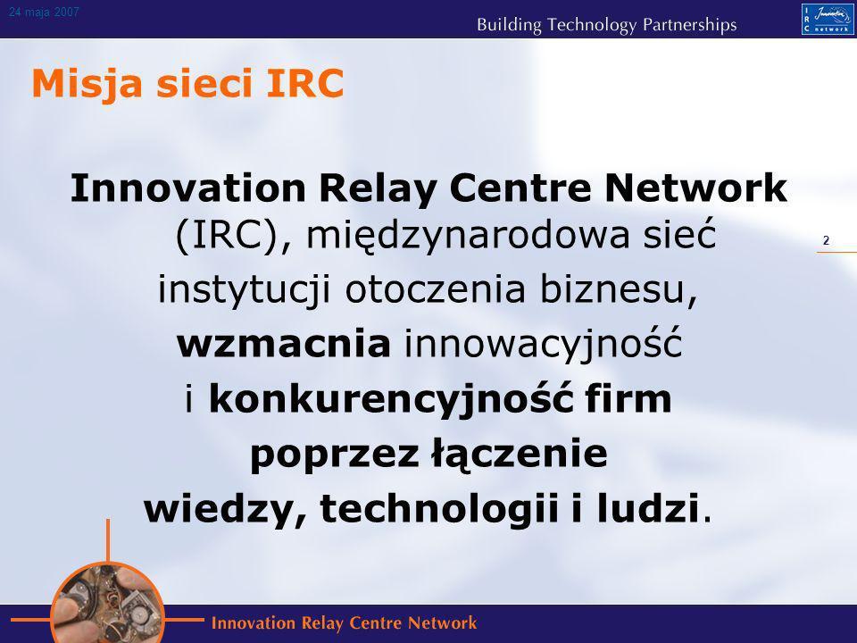 13 24 maja 2007 Rodzaje umów zawartych dzięki IRC