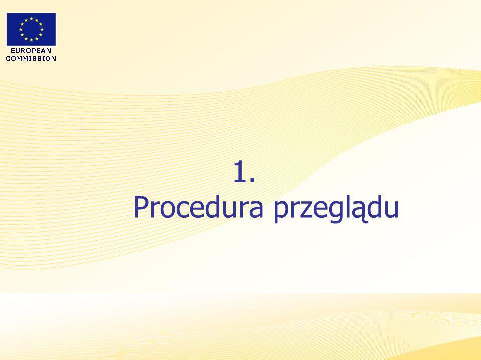 1. Procedura przeglądu