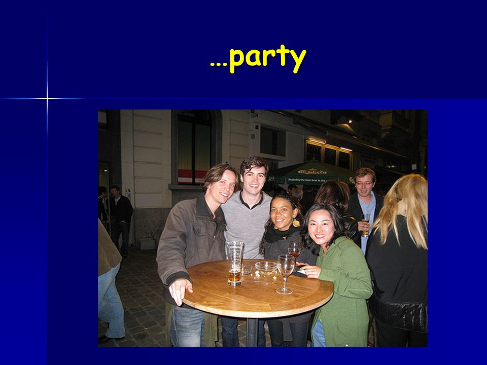 …party