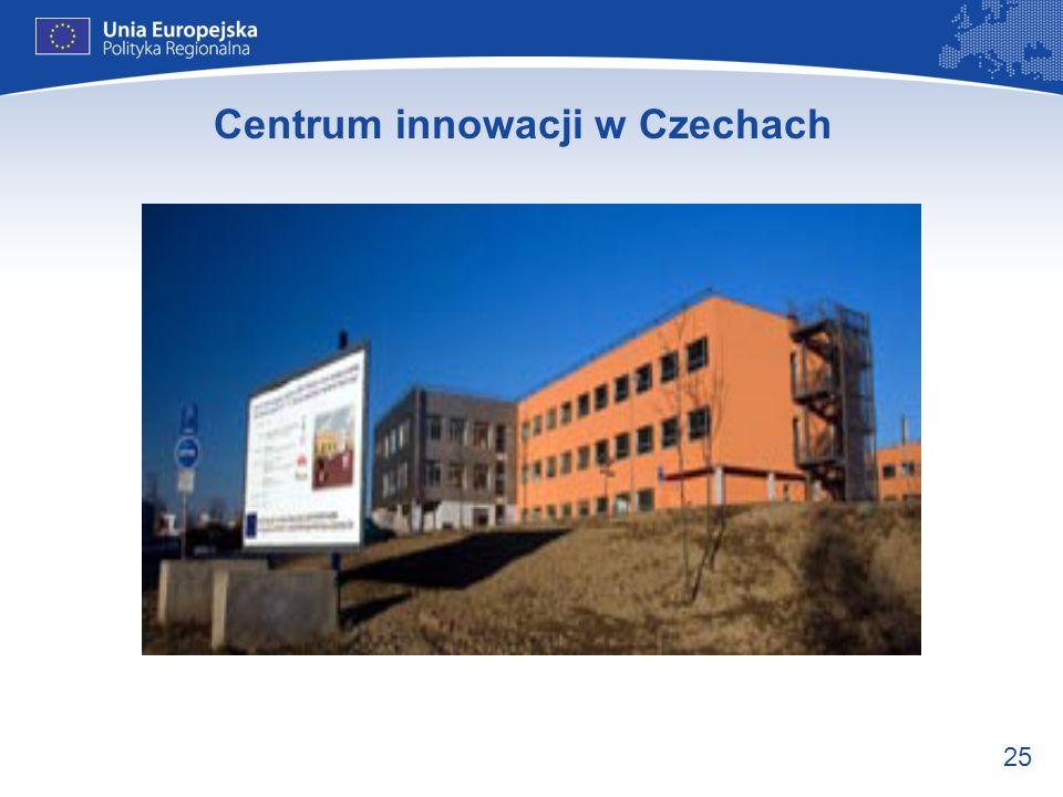 25 Centrum innowacji w Czechach