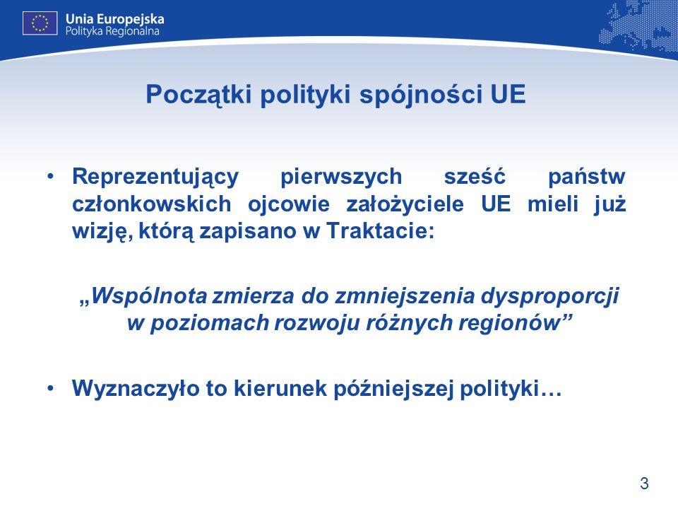 14 Podsumowanie: 1994–1999 Wprowadzenie celu 4 Uproszczenie procedur Nowe instrumenty związane z funduszem spójności i rybołówstwem Wzrost budżetu funduszy strukturalnych do 32 mld ECU rocznie (ok.