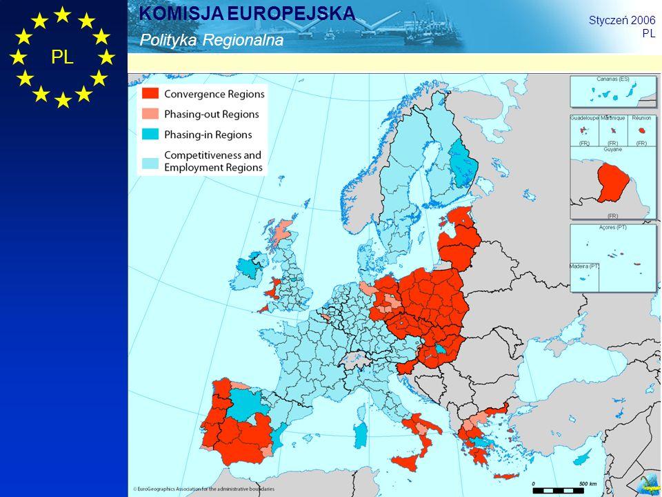 10 Polityka Regionalna KOMISJA EUROPEJSKA Styczeń 2006 PL
