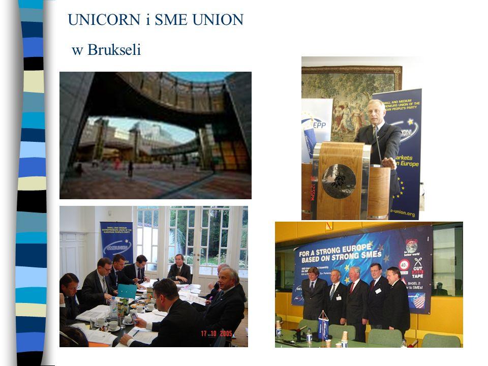 UNICORN i SME UNION w Brukseli