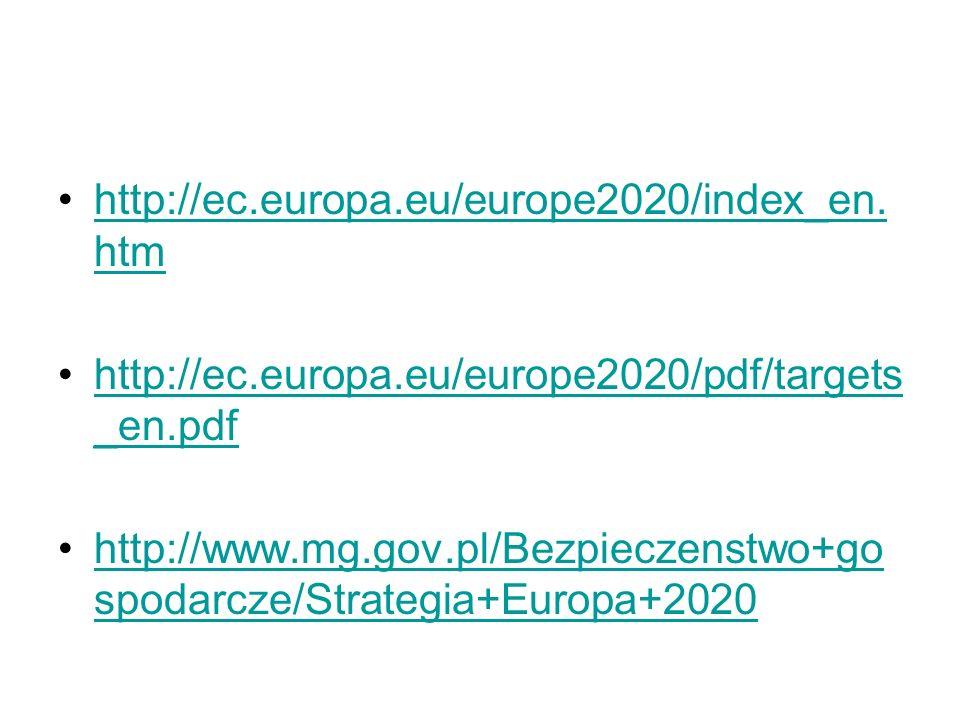 http://ec.europa.eu/europe2020/index_en. htmhttp://ec.europa.eu/europe2020/index_en. htm http://ec.europa.eu/europe2020/pdf/targets _en.pdfhttp://ec.e