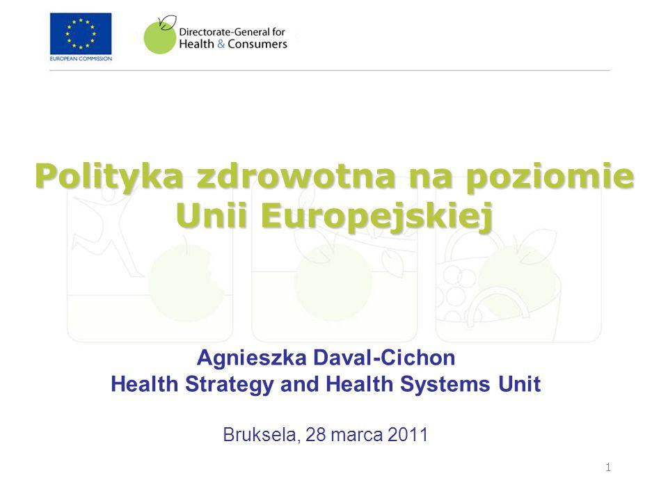 2 Dzisiejsza Unia Europejska 27 kraj ó w ~500 milion ó w obywateli obywateli 27 system ó w ochrony zdrowia