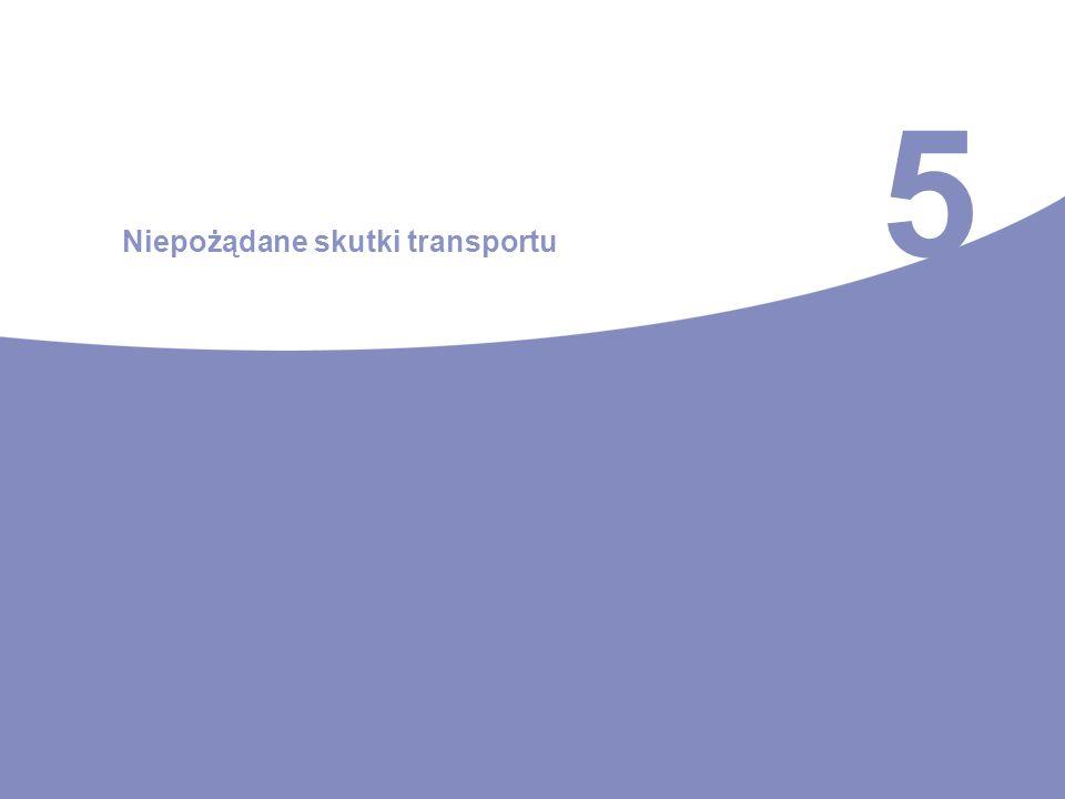 5 Niepożądane skutki transportu