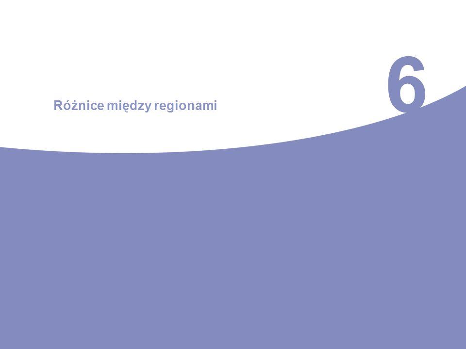 6 Różnice między regionami
