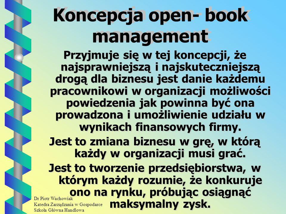 Dr Piotr Wachowiak Katedra Zarządzania w Gospodarce Szkoła Główna Handlowa Najczęściej wydzielane są następujące działalności: Działalność socjalna.