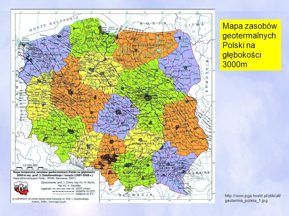 http://www.pga.hostit.pl/pliki/all/ geotermia_polska_1.jpg Mapa zasobów geotermalnych Polski na głębokości 3000m