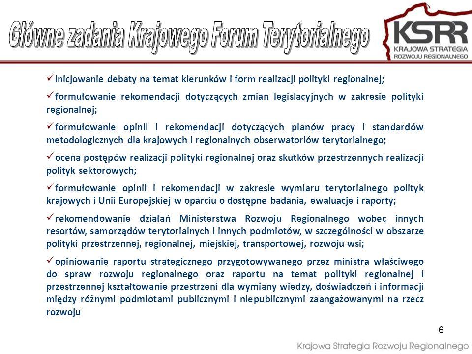 7 Przewodniczący Forum (minister właściwy ds.