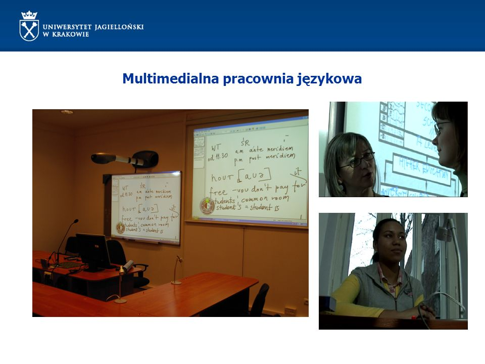 Multimedialna pracownia językowa