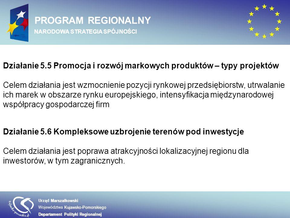 Marszałkowski Urząd Marszałkowski Kujawsko-Pomorskiego Województwa Kujawsko-Pomorskiego Departament Polityki Regionalnej PROGRAM REGIONALNY NARODOWA STRATEGIA SPÓJNOŚCI