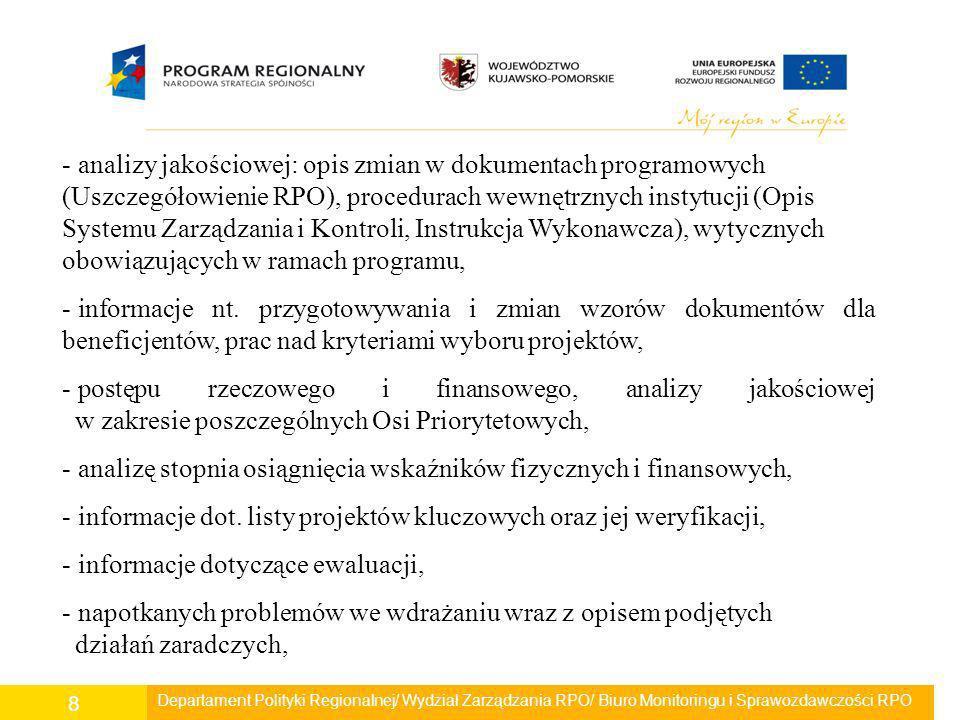 Oś Priorytetowa 8 Pomoc techniczna W okresie objętym sprawozdaniem wydano decyzje/uchwały na realizację 5 projektów.