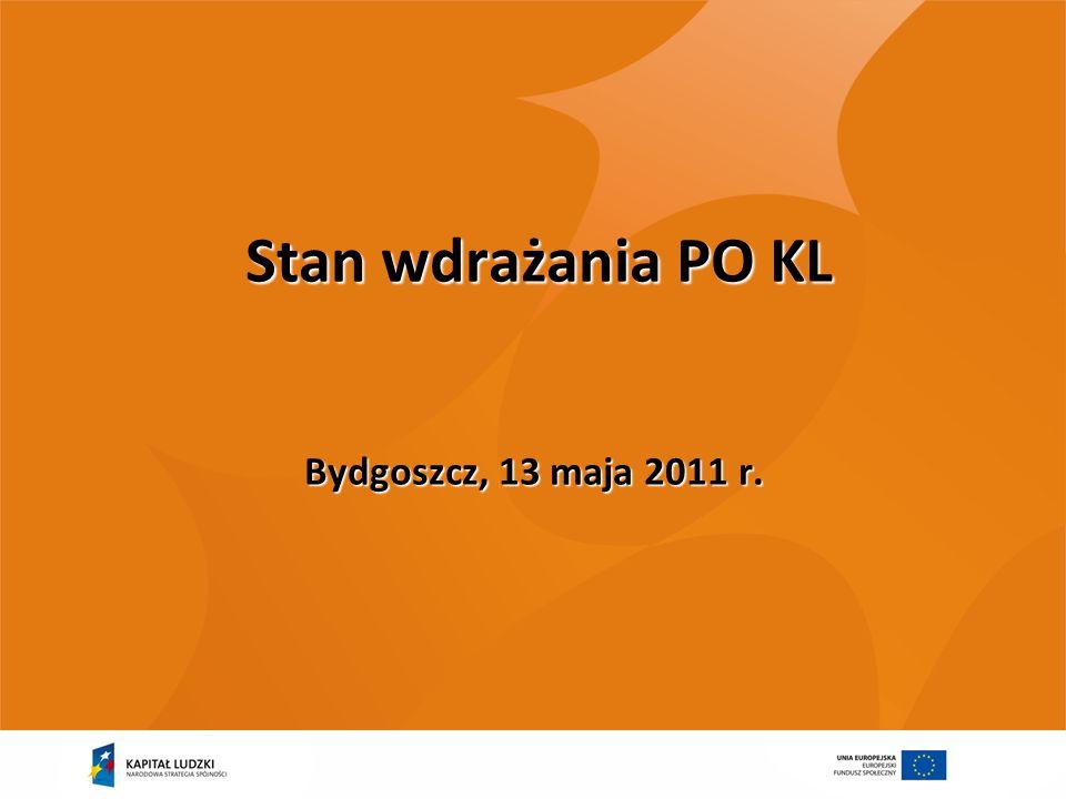 22 Harmonogram PRZEGLĄDU ŚRÓDOKRESOWEGO maj-czerwiec 2011 – robocze konsultacje z KE propozycji zmian PO KL wypracowanych w ramach przeglądu śródokresowego 16-17 maja 2011 – spotkania z IP i partnerami społecznymi 6-7 czerwca 2011 KM PO KL – przedstawienie i zatwierdzenie propozycji zmian treści PO KL, w tym zmian wynikających z podziału KRW Czerwiec 2011 – oficjalne przekazanie propozycji zmian w PO KL do KE Koniec 2011 – decyzja KE ws.
