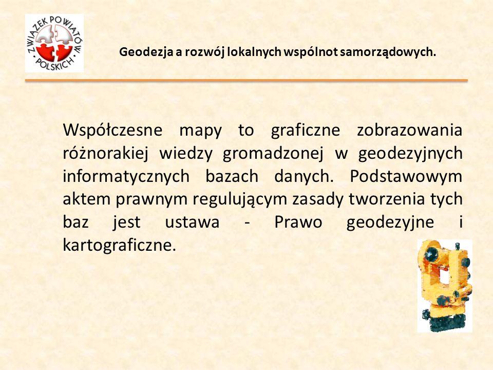 Geodezja a rozwój lokalnych wspólnot samorządowych. PLAN GOSOPDARKI ODPADAMI