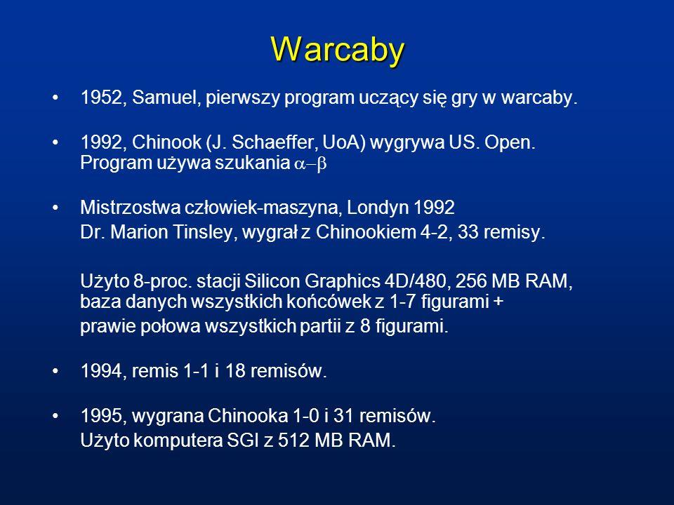 Warcaby 1952, Samuel, pierwszy program uczący się gry w warcaby.