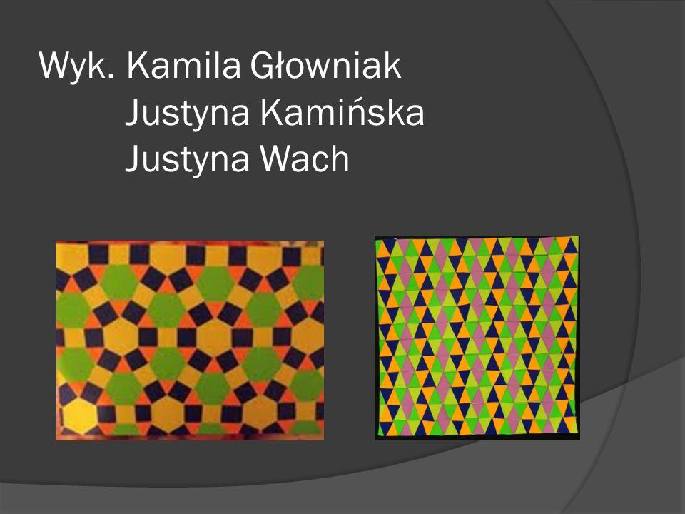 Wyk. Kamila Głowniak Justyna Kamińska Justyna Wach