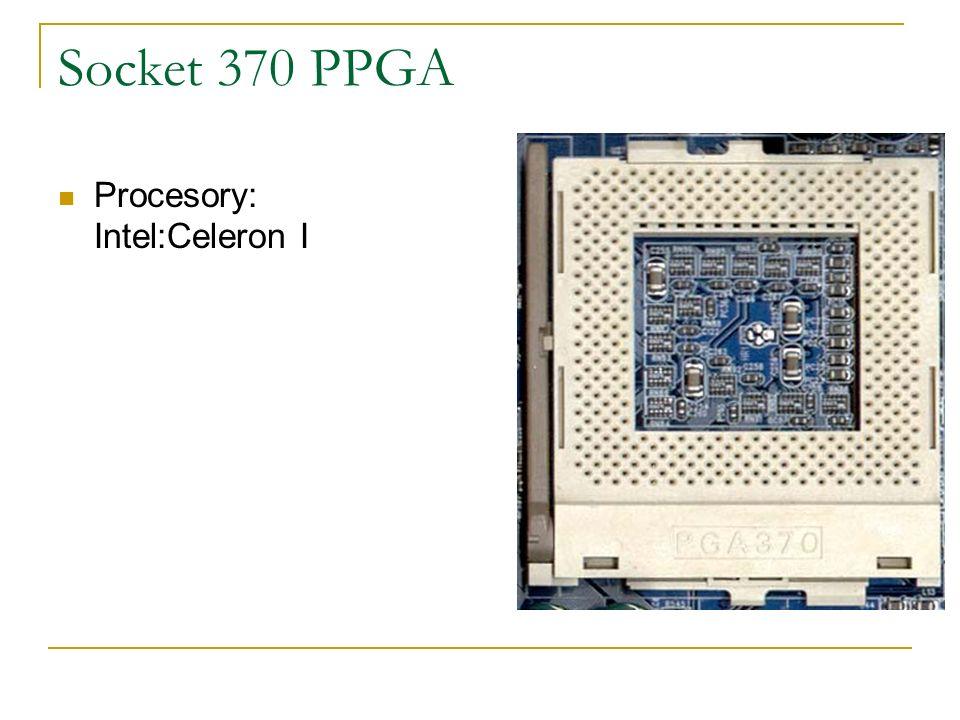 Socket 370 PPGA Procesory: Intel:Celeron I