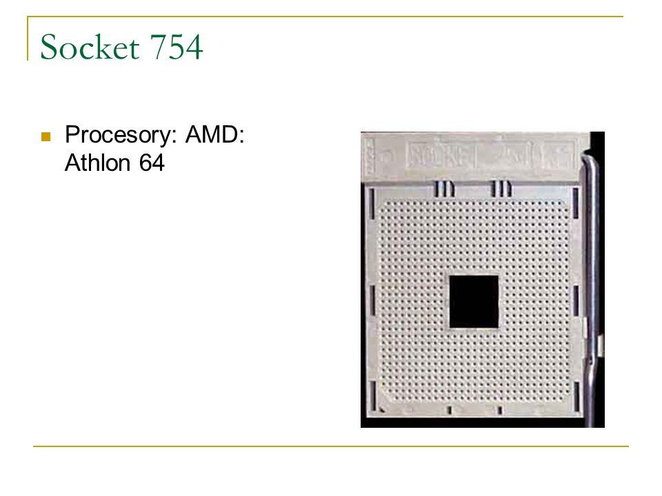 Socket 754 Procesory: AMD: Athlon 64