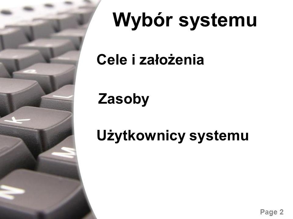 Free Powerpoint Templates Page 3 Kryteria wyboru Łatwość obsługi Polski interfejs Możliwość zmiany motywu graficznego Duży wybór motywów graficznych Możliwość stosowania widżetów