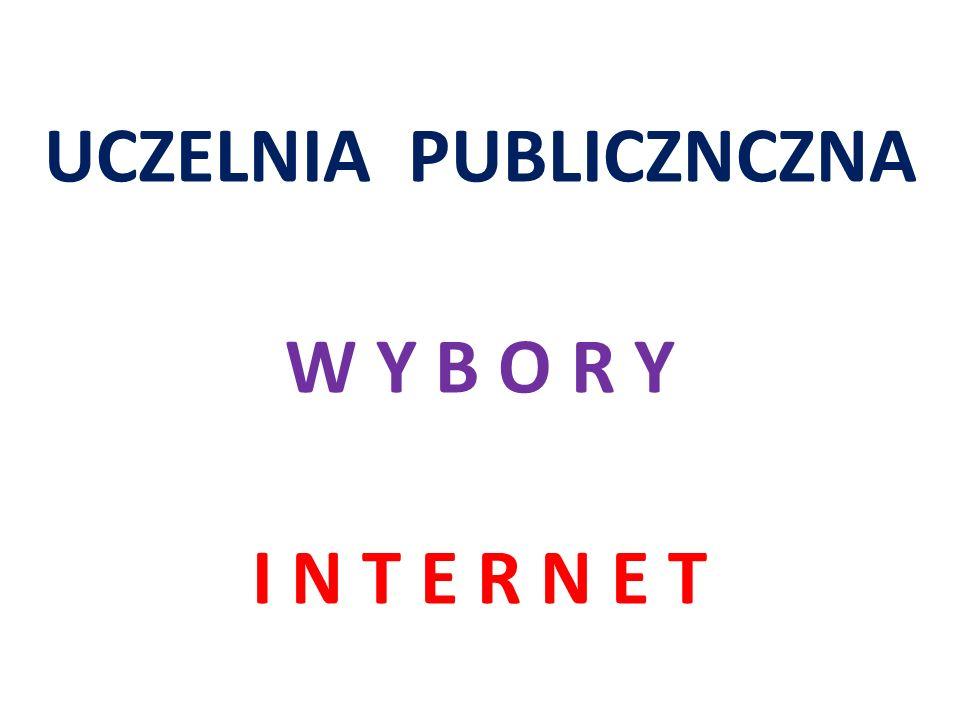 T E Z A Wykorzystanie Internetu zapewnieni : - pełną informację o wyborach - przeprowadzenie wyborów