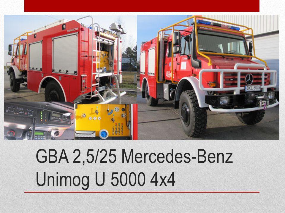GBA 2,5/25 Mercedes-Benz Unimog U 5000 4x4