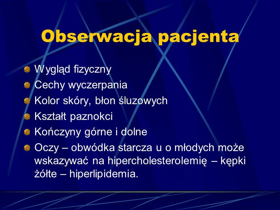 Puls koniuszkowy (badanie palpacyjne) Prawidłowe uderzenie koniuszkowe mieści się w obrębie piątego międzyżebrza w linii środkowoobojczykowej.(bardzo wyraźne w przeroście prawej komory) Drżenie w okolicy koniuszka serca jest fizjologiczne tylko u dzieci.