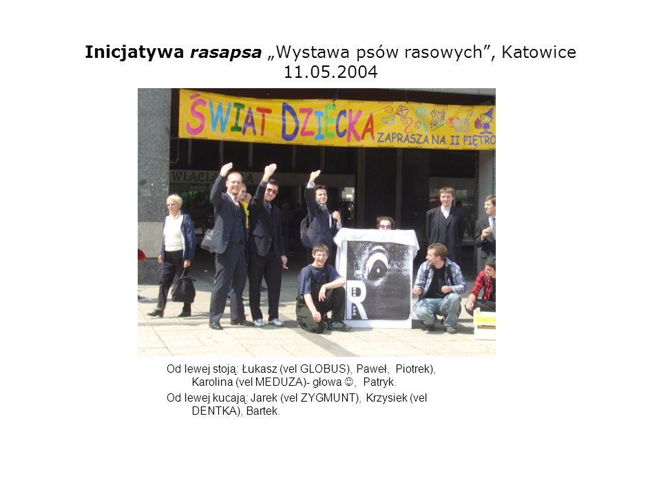 Inicjatywa rasapsa Wystawa psów rasowych, Katowice 11.05.2004 Bartek