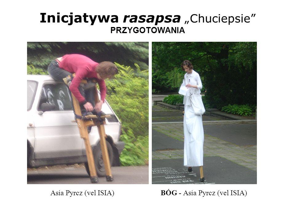 Inicjatywa rasapsa Chuciepsie PRZYGOTOWANIA Asia Pyrcz (vel ISIA) BÓG - Asia Pyrcz (vel ISIA)