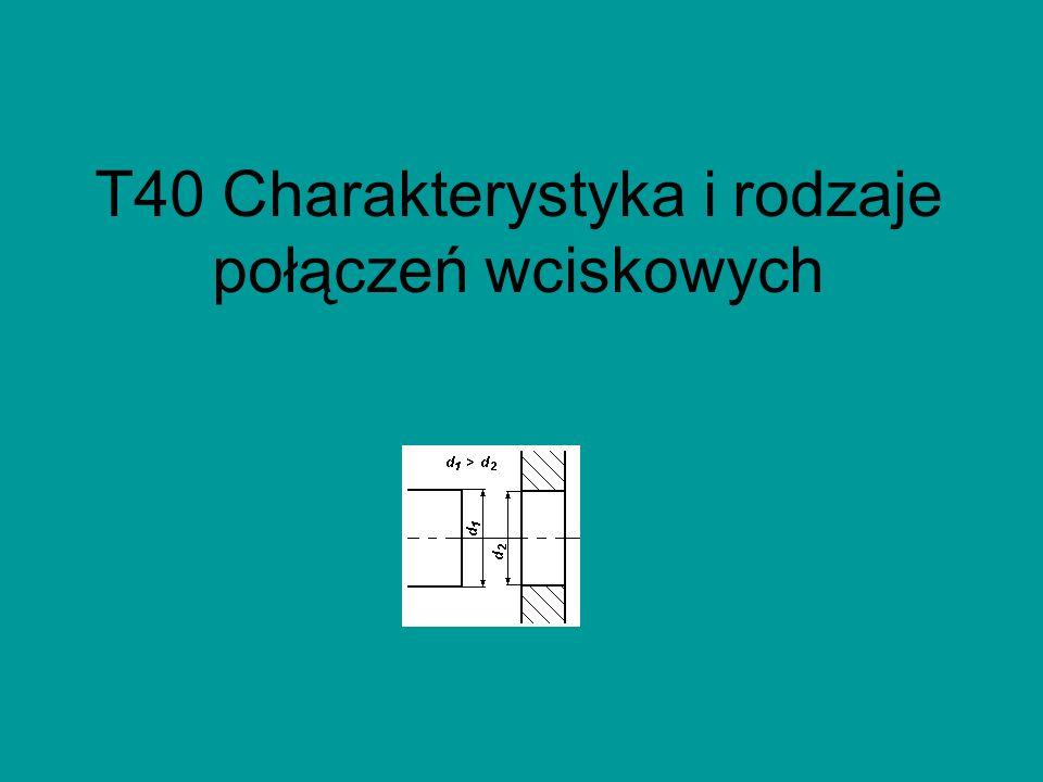 W zależności od wartości wcisku (4.8) Temperaturę nagrzania pierścienia t 2 obliczymy, przekształcając wzór 4.6 oraz podstawiając (4.9)