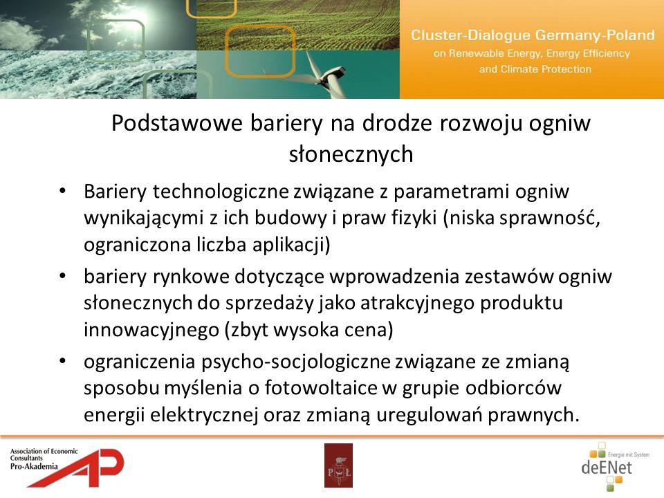 Prace z zakresu fotowoltaiki prowadzone w Katedrze Przyrządów Półprzewodnikowych i optoelektronicznych Politechniki Łódzkiej.