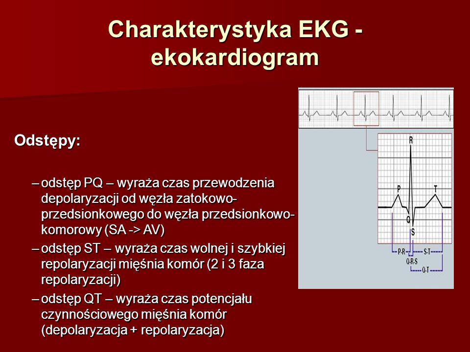 Niedokrwienie/ Zawał mięśnia sercowego NSTEMI (bez uniesienia w EKG) Obniżenie odcinka ST Odwrócenie załamka T