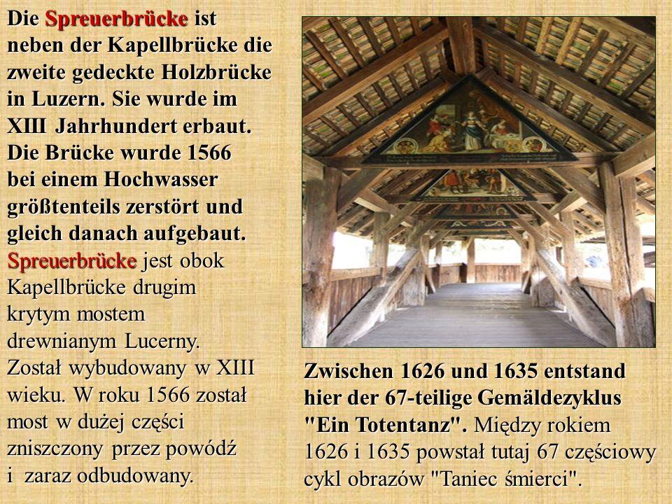 Zwischen 1626 und 1635 entstand hier der 67-teilige Gemäldezyklus
