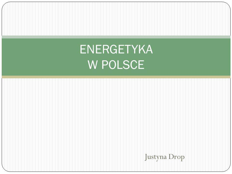 Justyna Drop ENERGETYKA W POLSCE