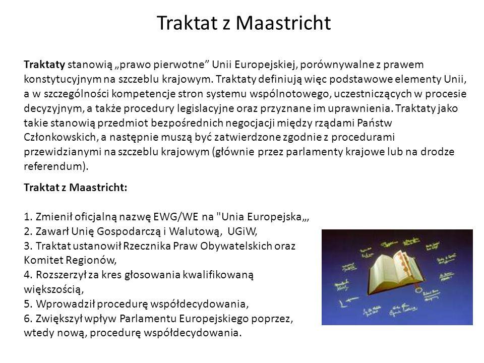 Traktaty stanowią prawo pierwotne Unii Europejskiej, porównywalne z prawem konstytucyjnym na szczeblu krajowym. Traktaty definiują więc podstawowe ele