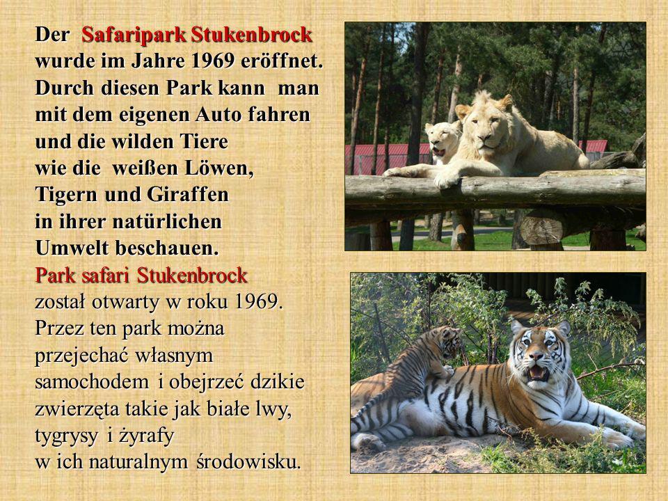 Der Safaripark Stukenbrock wurde im Jahre 1969 eröffnet.