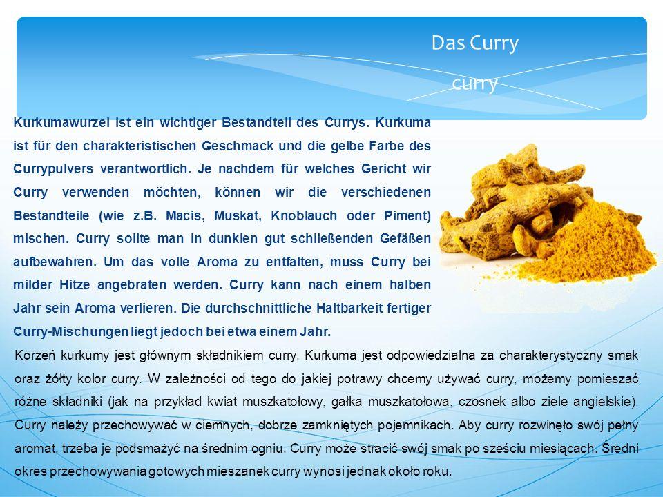 Das Curry curry Kurkumawurzel ist ein wichtiger Bestandteil des Currys.
