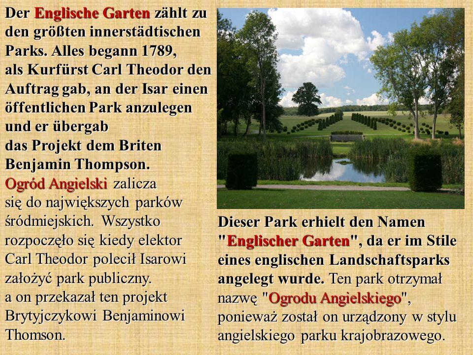 Dieser Park erhielt den Namen
