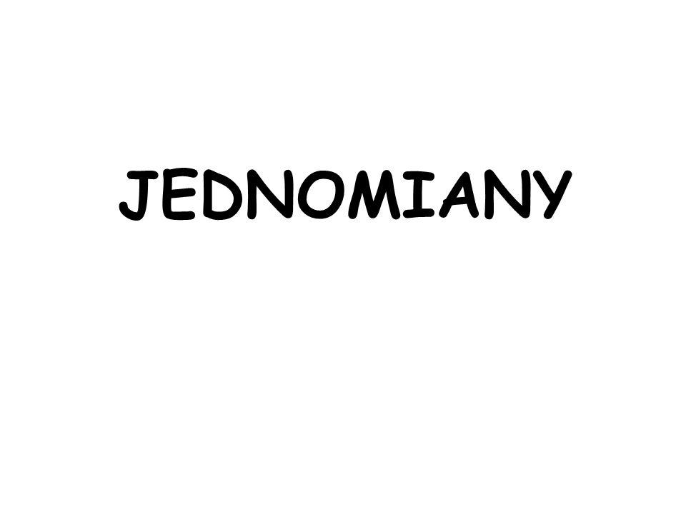 JEDNOMIANY
